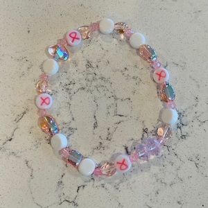 Jewelry - 🎉5 for $25🎉 Breast Cancer Awareness Bracelet